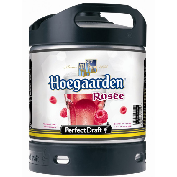 Buy-Achat-Purchase - Hoegaarden Rosée Keg 6L for PerfectDraft - White beers -