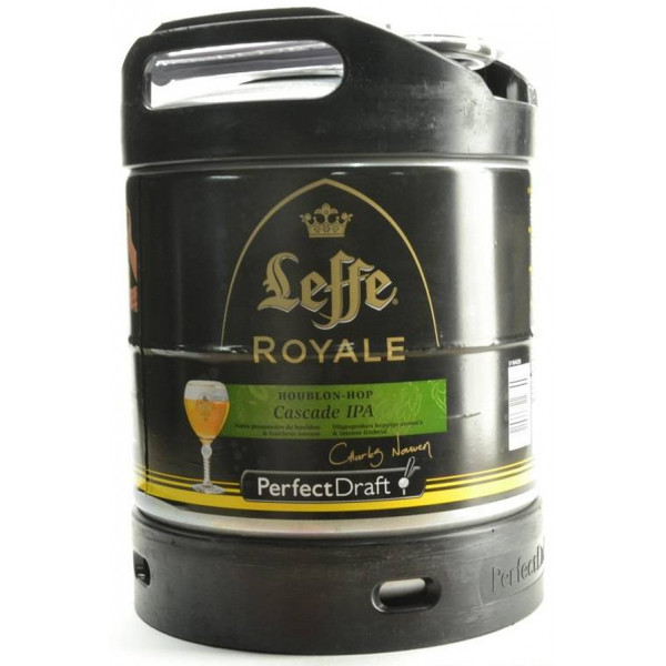 Buy-Achat-Purchase - Leffe Royale Cascade IPA Keg 6L for PerfectDraft - Beers Kegs -