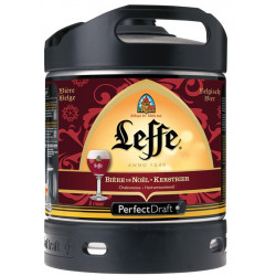 Leffe Christmas Keg 6L for PerfectDraft - Abbey beers -