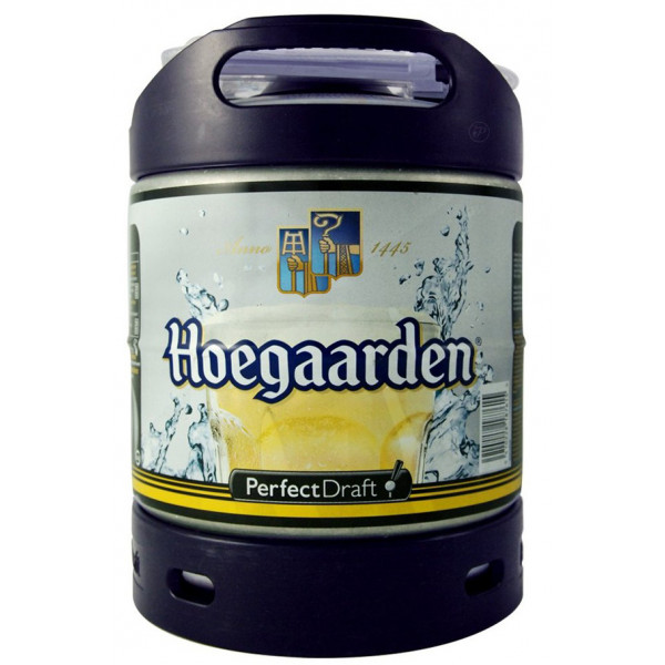 Buy-Achat-Purchase - Hoegaarden Keg 6L for PerfectDraft - Beers Kegs - AB-Inbev