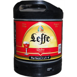Buy-Achat-Purchase - Leffe Ruby 5° Keg 6L for PerfectDraft - Beers Kegs - Leffe