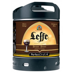 Buy-Achat-Purchase - Leffe Bruin Keg 6L for PerfectDraft - Beers Kegs - Leffe