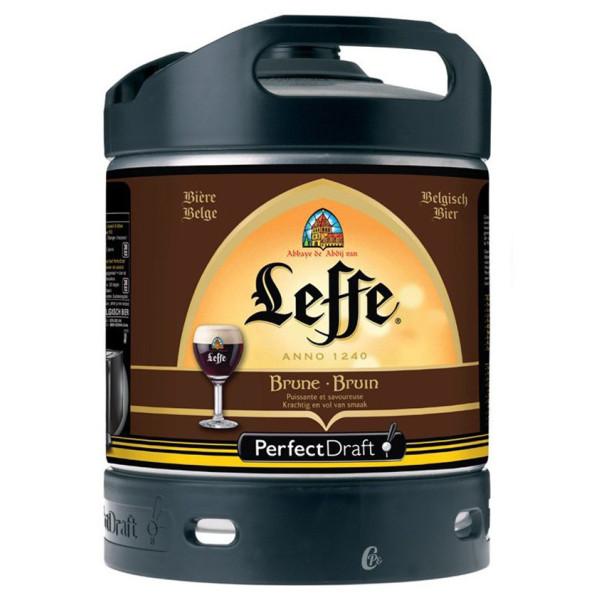 Leffe Bruin Keg 6L for PerfectDraft - Beers Kegs - Leffe