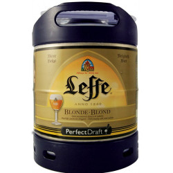 Buy-Achat-Purchase - Leffe Blond Keg 6L for PerfectDraft - Beers Kegs - Leffe