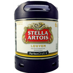 Buy-Achat-Purchase - Stella Artois Keg 6L for PerfectDraft - Beers Kegs - AB-Inbev