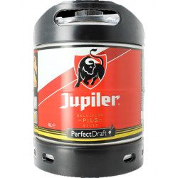 Jupiler Keg 6L for PerfectDraft - Beers Kegs - AB-Inbev