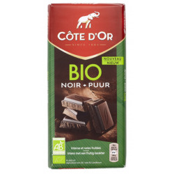 Buy-Achat-Purchase - Côte d'Or BIO Noir 60% 150g - Cote d'Or - Cote D'OR
