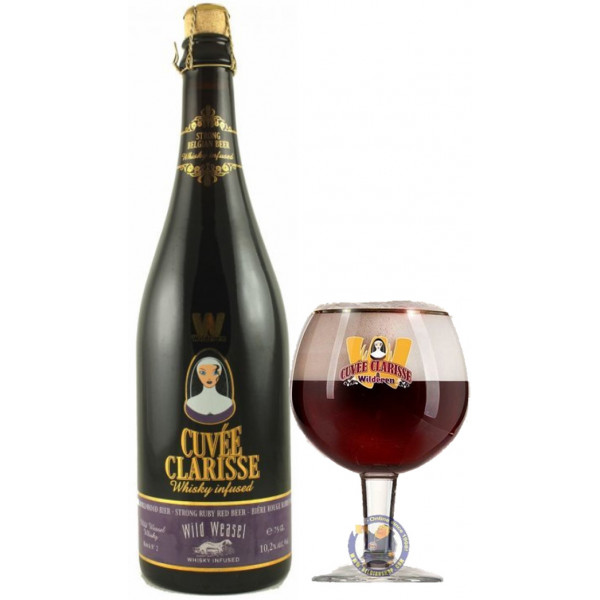 Buy-Achat-Purchase - Cuvée Clarisse Whisky Infused Limited 10,2° - 3/4L - Special beers -