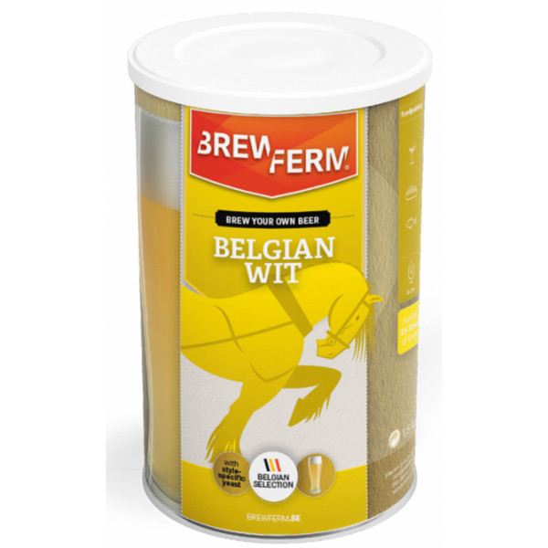 Beer kit Brewferm Wheat beer for 15L - Brewing Kits -