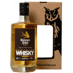 Buy-Achat-Purchase - BELGIAN OWL Single Malt INTENSE 42 MONTHS - 73° - 50 CL - Belgian Whiskeys -