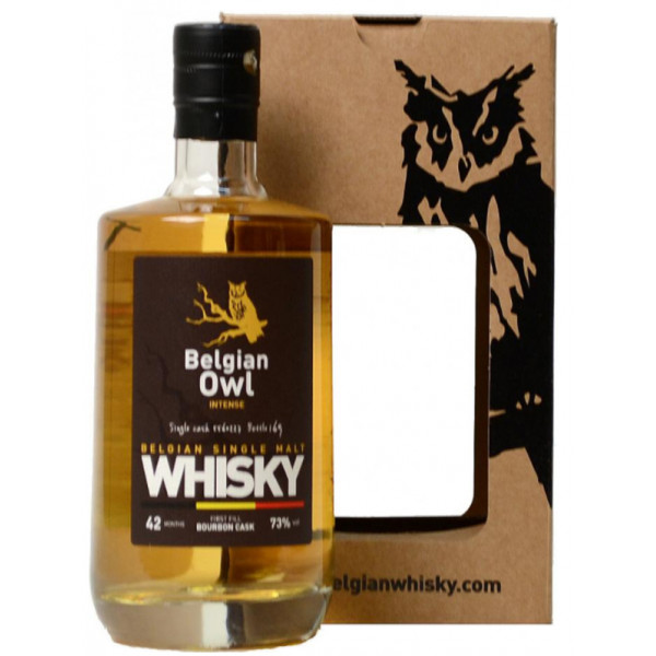 BELGIAN OWL Single Malt INTENSE 42 MONTHS - 73° - 50 CL - Belgian Whiskeys -