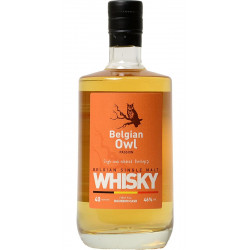 BELGIAN OWL Single Malt PASSION 40 MONTHS - 46° - 50 CL - Belgian Whiskeys -