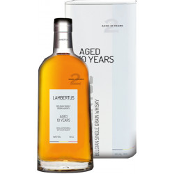 Lambertus 10 YEARS, 40° - 70cl - Belgian Whiskeys -