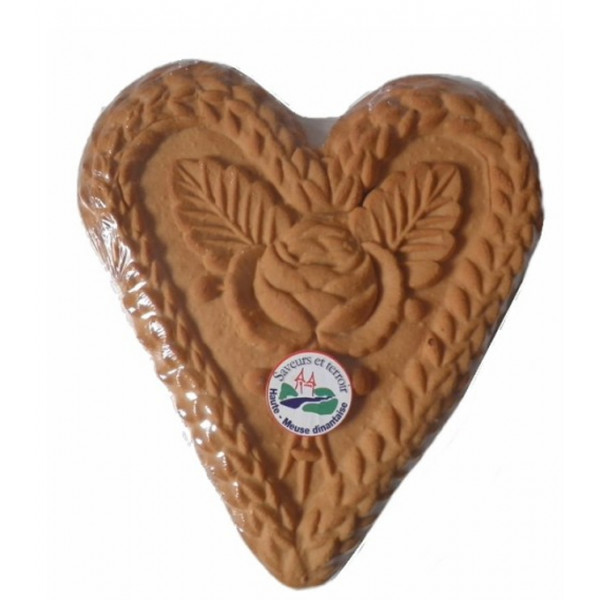Buy-Achat-Purchase - Couque de Dinant 125g - Coeur (Collard) - Biscuits -