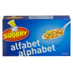Soubry Pasta Alphabet 375g - Belgian Pasta - Soubry