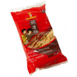 Buy-Achat-Purchase - Soubry Chinese noodles with eggs 250g - Belgian Pasta - Soubry