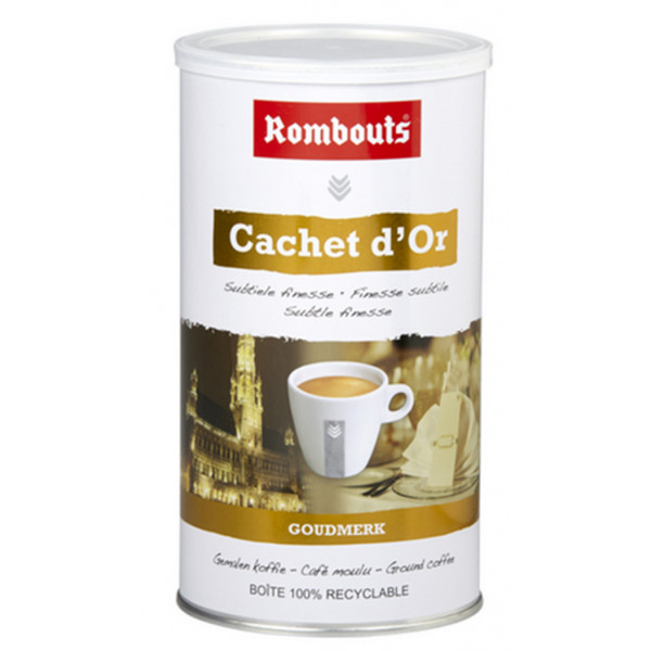 Buy-Achat-Purchase - ROMBOUTS Cachet d'Or 500g - Coffee - Rombouts