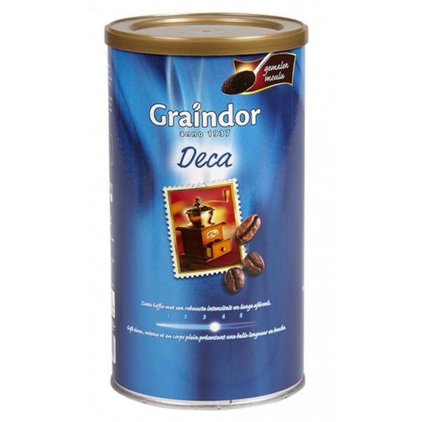 Buy-Achat-Purchase - Graindor DECA moulu 500g - Coffee - Graindor
