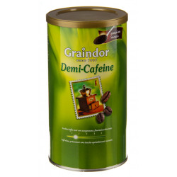 Buy-Achat-Purchase - Graindor DEMI-DECA moulu 500g - Coffee - Graindor