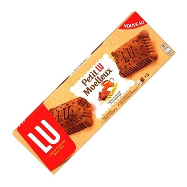 Buy-Achat-Purchase - LU Petit LU Moelleux Chocolat 140g - Biscuits - LU
