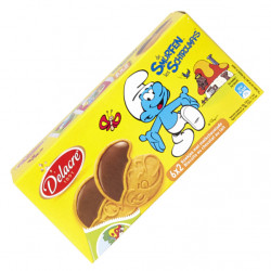 Buy-Achat-Purchase - DELACRE Schtroumpfs Choco Milk 150 g - Biscuits - Delacre