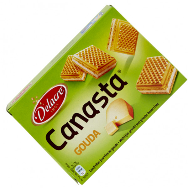 Buy-Achat-Purchase - DELACRE Canasta Gouda 75 g - Biscuits - Delacre
