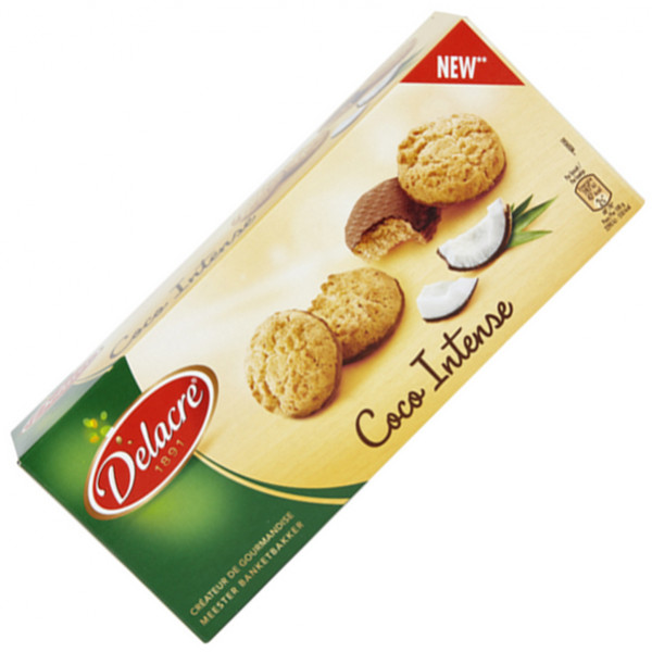 Buy-Achat-Purchase - DELACRE Coco Intense 100g - Biscuits - Delacre