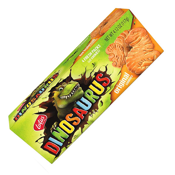 Buy-Achat-Purchase - LOTUS Dinosaurus chocolate 225 g - Biscuits - Lotus