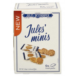 Buy-Achat-Purchase - Jules Destrooper Jules'minis 126g - Biscuits - Jules Destrooper