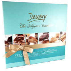 Buy-Achat-Purchase - Desobry Chocolate Biscuit Collection 220g - Biscuits - Desobry