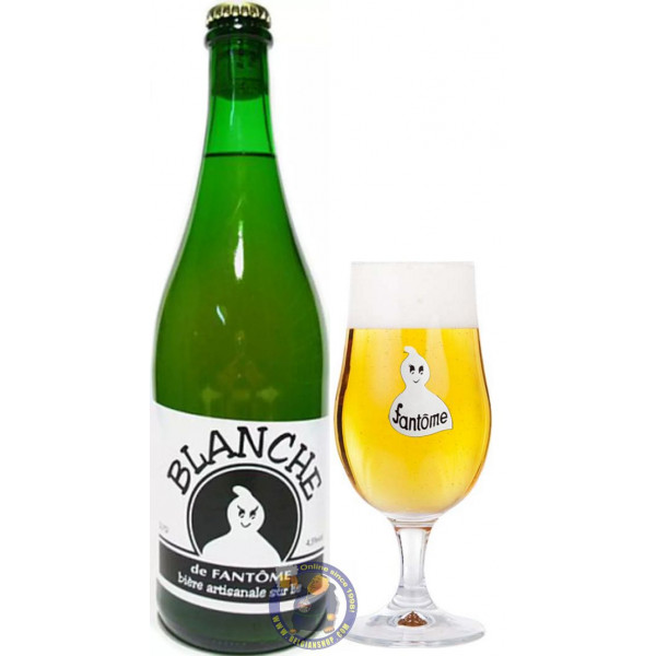 Fantôme Blanche 4° - 3/4L - White beers -