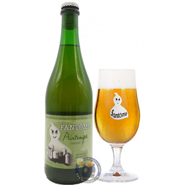 Buy-Achat-Purchase - Fantôme Printemps 8° - 3/4L - Special beers -