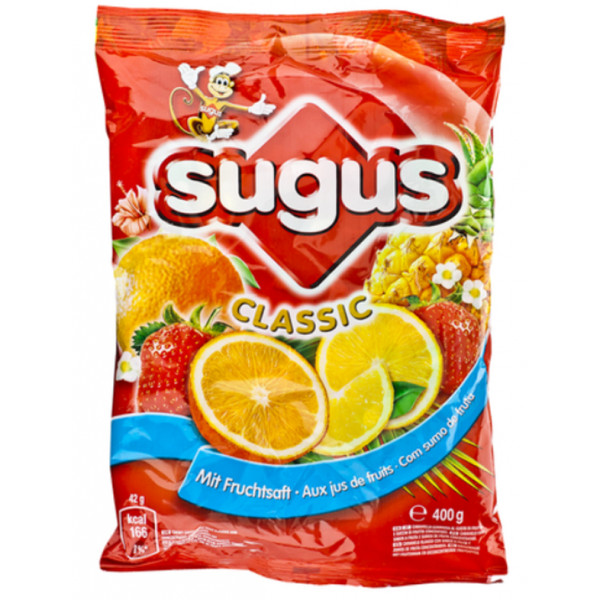 Buy-Achat-Purchase - Sugus Classic 400 gr - Fruit candy / Dextrose -