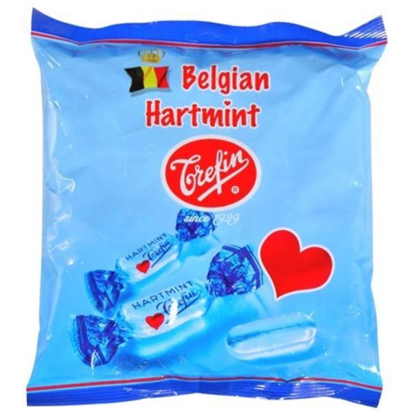 Trefin Belgian Hartmint 600 gr - Fruit candy / Dextrose - Trefin