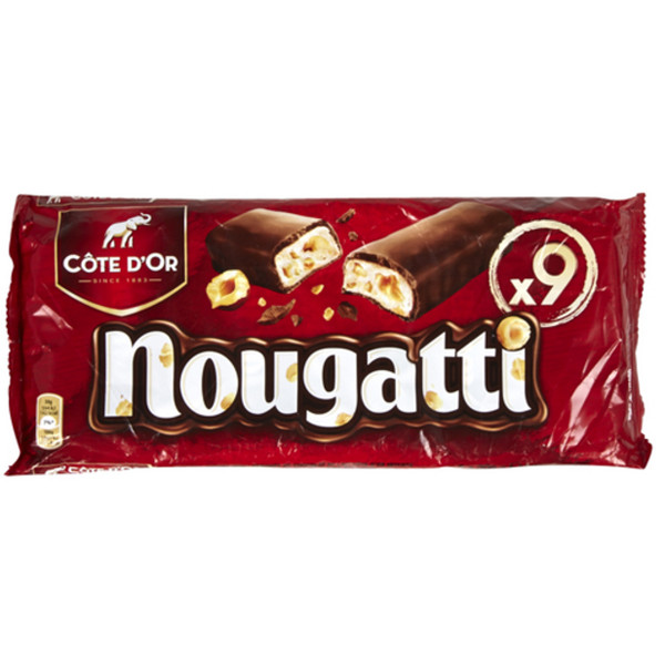 Buy-Achat-Purchase - Cote d'Or NOUGATTI 9 x 30 g - Cote d'Or - Cote D'OR