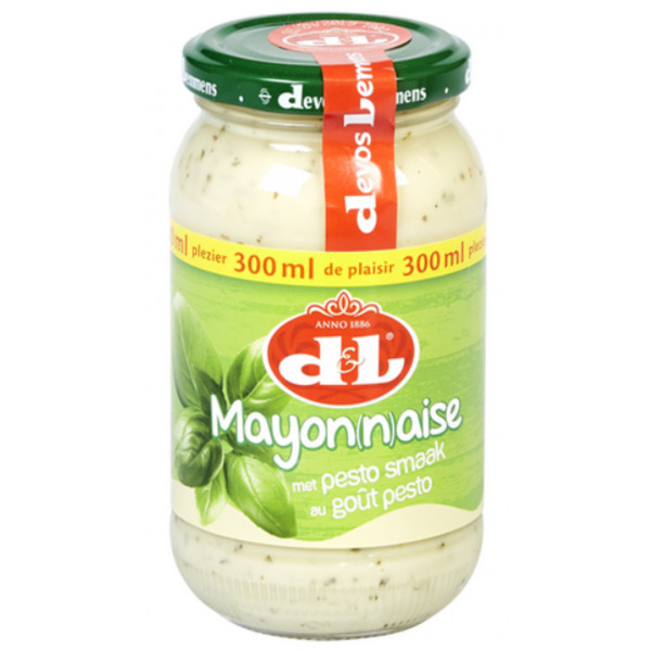 Buy-Achat-Purchase - Devos&Lemmens Mayonnaise Pesto 300ml - Sauces - Devos&Lemmens