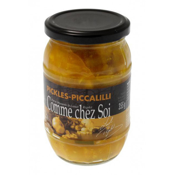 Buy-Achat-Purchase - Piccalilli sauce - Comme Chez Soi 355g - Sauces -