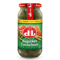 Buy-Achat-Purchase - DEVOS&LEMMENS Cornichons ext.-fins 365 g - Sauces - Devos&Lemmens