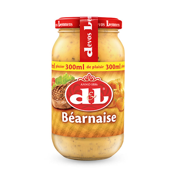 Buy-Achat-Purchase - Devos&Lemmens Bearnaise sauce - 300ml - Sauces - Devos&Lemmens