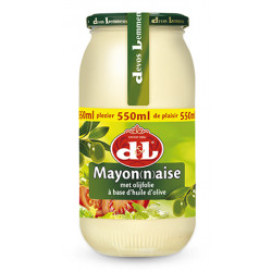 Buy-Achat-Purchase - Devos&Lemmens Mayonnaise -huile d'olive 550 ml - Sauces - Devos&Lemmens