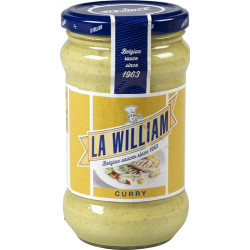 Buy-Achat-Purchase - La William CURRY 300ml - Sauces - La William