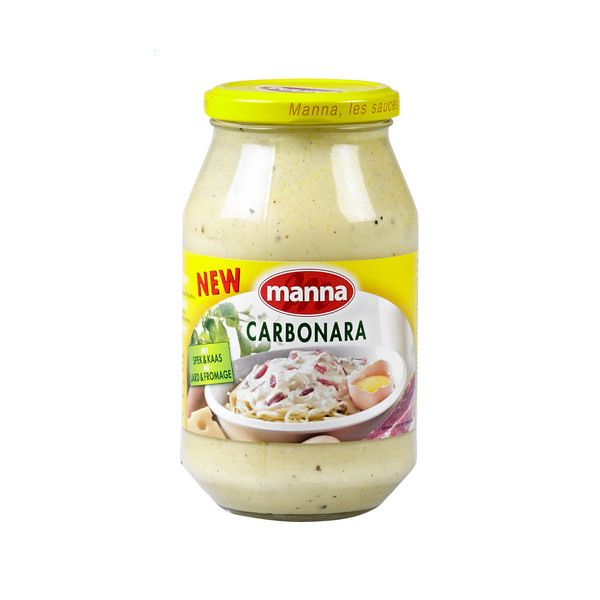 Buy-Achat-Purchase - Manna CARBONARA 500g - Sauces - Manna
