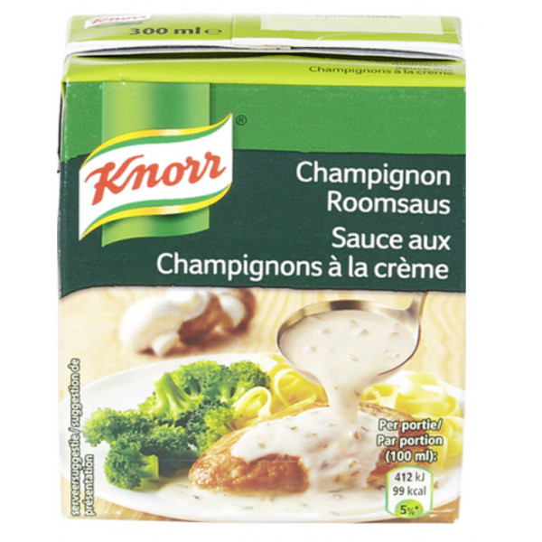 Buy-Achat-Purchase - KNORR Tetra Champignon sauce 300ml - Sauces - Knorr