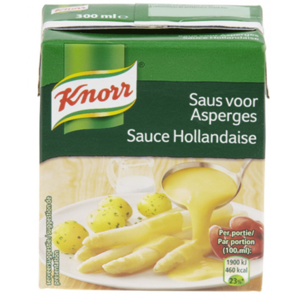 KNORR Tetra Hollandaise Sauce 300 ml - Sauces - Knorr