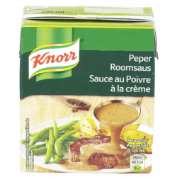 Buy-Achat-Purchase - KNORR Tetra Peper sauce 300 ml - Sauces - Knorr