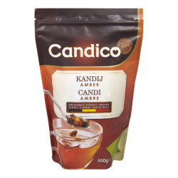 Buy-Achat-Purchase - Candico Candi Sugar Amber 500 gr - Sugars - Candico