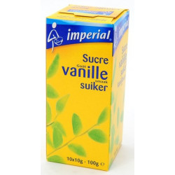Buy-Achat-Purchase - Imperial Sucre Vanille 10 x 10g - Pastry - Imperial