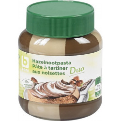 BONI DUO Spread chocolate paste hazelnuts 400gr - Choco - BONI Selection