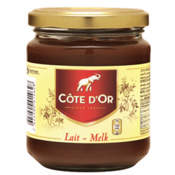 Buy-Achat-Purchase - Côte d'Or Pâte à Tartiner Lait-Milk 300g - Cote d'Or - Cote D'OR