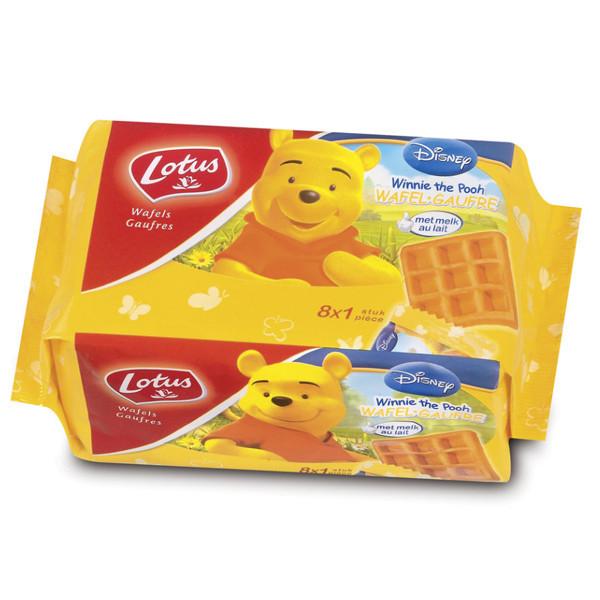 Lotus Winnie The Pooh 8 waffles 224 gr - Waffles - Lotus